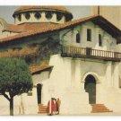 CA San Francisco Mission Delores Vintage 1950s Gray Line Tours Postcard
