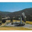 CA Jamesburg Earth Station COMSAT Dish Satellite Space Communications Postcard
