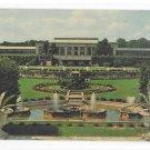 Longwood Gardens Conservatory Fountsin Garden Kennett Square PA Vintage Postcard
