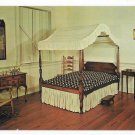 Rock Ford House Bedroom Revolutionary War General Hand Lancaster PA Jim Hess Postcard