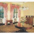 Wheatland Dining Room Home of President James Buchanan Lancaster PA Vintage Postcard