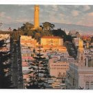 San Francisco CA Telegraph HIll Coit Tower Aerial View Vintage Gray Line Postcard