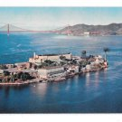 Alcatraz Island San Francisco Bay Golden Gate Bridge CA Vintage Gray LIne Tours Postcard