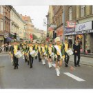 Denmark Slagelee Pigegarde Girls Marching Band Street Parade 4X6 Vintage 1986 Postcard