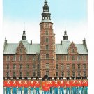 Denmark Copenhagen Royal Guard front of Rosenborg Palace  1984 Postcard 4X6