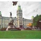 Quebec Canada Parliament Building Le Parlement Vintage S J Haywawrd Photo Postcard