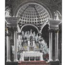 Canada Quebec St Anne de Beaupre Basilica Main Altar Church Vintage Postcard
