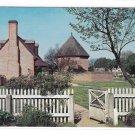 VA Williamsburg Powder Magazine Storehouse Revoultionary and Civil Wars Vntg Postcard