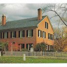 Deerfield MA Wright House Historic Home Walter H Miller Vintage Postcard