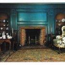 Deerfield MA Historic Ashley House Parlor Vintage Massachusetts Postcard