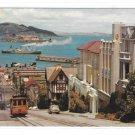CA San Francisco Cable Car Hyde Street Bay View Steamer Alcatraz Vintage California Postcard