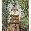 Philadelphia PA Independence Hall South Side Facade Park Entrance WYCO Postcard
