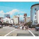 CA Hollywood Sunset & Vine Radio Center Street Scene NBC Music City Vintage Postcard