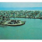 Stone Harbor NJ Aerial View Yacht Club Atlantic Ocean Vintage New Jersey Postcard