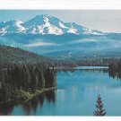 CA Mt Shasta Lake Siskiyou Landscape Panorama Vintage Postcardrapher
