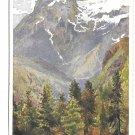 Marmarole von Tre Croci Austria Signed Hofecker Deutscher Schulverein Vintage Postcard