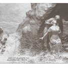 Yesterday and Today Man Woman Romance D Mastroianni Sculptor A Noyer 1911 Postcard