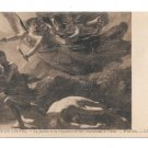 Justice Divine Vengeance Pursuing Crime Prudhon Painting LL Leon Levy Postcard Musee Louvre