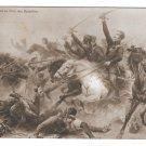 Theodor Korner Invokes Help from God in Battle Napoleonic Wars Vintage PFB Postcard