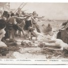 Emile Boutigny France Salon 1913 The Wreckers Les Naufrageurs Pirates Nude Women SPA Postcard