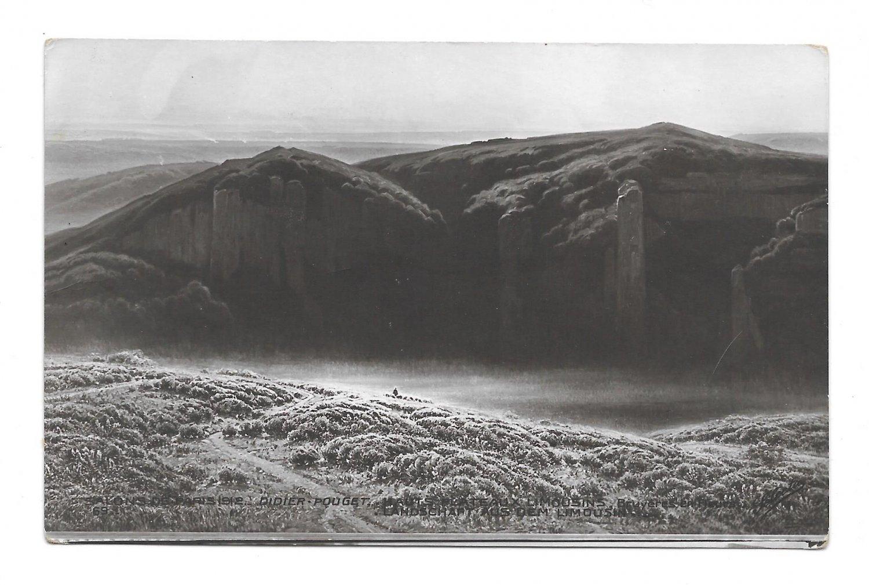 Hauts Plateaux Limousins Painter Didier-Pouget Salon de Paris 1912 SPA Postcard