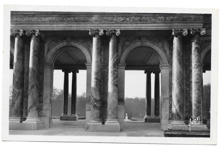 Yvon Paris Glossy RPPC Versailles Facade du Grand Trianon Real Photo Postcard