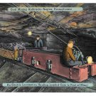 Coal Mining Anthracite Region PA Electric Locomotive Hauling Cars Mebane Postcard