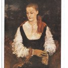 German Artist R H Eisenmenger Portrait Wiener Kunstlerhaus Painting Vintage 4X6 Postcard