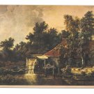 Meindert Hobbema Landscape Painting Watermolen Water Mill Nepos Netherlands Postcard