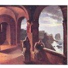 Peter Fendi  Artist Camaldolese Salerno Monastery Arcades Vienna Austria Art Postcard