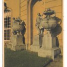 Germany Architecture Archway Statue Urns EAS 1944 E A Scwerdtfeger 4X6 Sepia Postcard