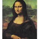 Mona Lisa Leonardo Da Vinci Louvre Museum Paris France Semi Glossy Postcard 4X6