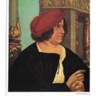 Portrait Burgermeister Jacob Meyer Hans Holbein Germany 4X6 Hanfstaengl Postcard