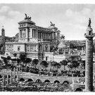 Italy Rome Trajans Forum Vittorio Emmanuel Monument  Glossy 4X6 Postcard