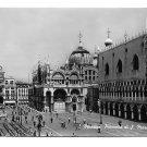 RPPC Italy Venice Piazzetta S Marco St Mark Square Glossy 4X6 SBV PostcardPostcard