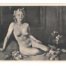 RPPC Jugend Julius Mahainz Nude Painting Heinrich Hoffmann 3rd Reich 4X6 Art Postcard