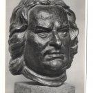 RPPC J S Bach Bust Haffenrichter Sculpture Film Foto Verlag Berlin 4X6 Art Postcard