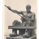 RPPC Schwertschleifer Ernst Kunst Sculpture Heinrich Hoffmann 4X6 Art Postcard