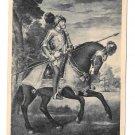 Titian Painting Kaiser Karl V After Battle Muhlberg on Horseback 4X6 Art Postcard