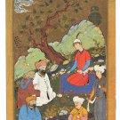 Islam Alexander Great Interrogates Greeks France National Museum Persian 4X6 Art Postcard