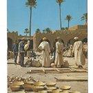 Pottery Market North Africa Maroc Morocco Vintage 4X6 Postcardrd