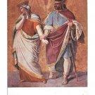 Schnorr von Carolsfeld Painting Nibelungenlied King Gunther Brunhilde Vintage Munich Postcard