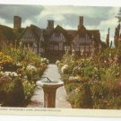 UK Hall's Croft Stratford on Avon Susanna Shakespeare Sundial Scouting Cancel Postcard