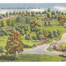 PA Gettysburg Civil War Little Roundtop Valley of Death Vintage George Buohl Postcard Linenostcard