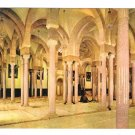 Tunisia Monastir Mosque Bourguiba Islam Interior Prayer Room Vntg 4X6 Postcard