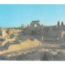 Africa Tunisia Sunset at the Ruins of Carthage Vintage 4X6 Reguioi Chamam Postcard