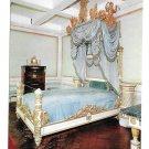 Italy Isola D'Elba Villa of Napoleon The Emperors Bed Fratelli Pagano 4X6 Postcard