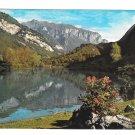 Italy Lago de Tenno Trentino South Tyrol Lake Panorama Brunner & Co 4X6 Postcard