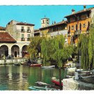 Italy Desenzano Lake Garda The Port Brescia Lombardy 4X6 Postcard