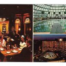 Washington DC Hotel America Multiview Dome Pool Restaurant Vntg Tichnor Postcard
